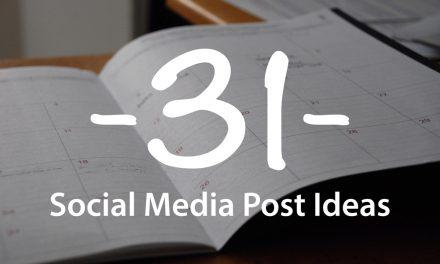 31 Social Media Post Ideas for your church