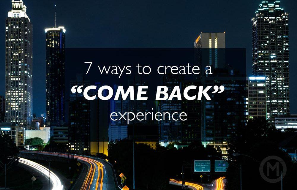 "7 ways Northpoint Ministries creates a ""Come Back"" experience"