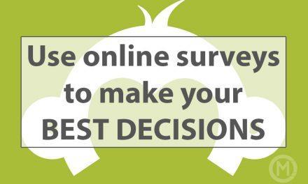 Get feedback with Survey Monkey