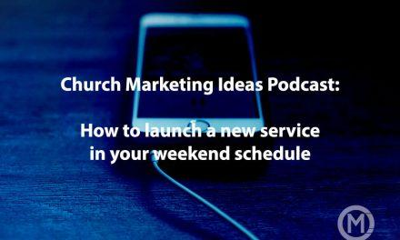 How to launch a new service in your weekend schedule
