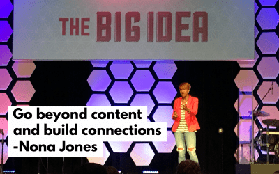 Nona Jones, Facebook: Go beyond content and build connections at Big Idea Nashville