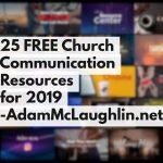 25 FREE Church Communication Resources for 2019