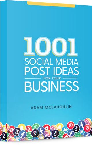 1001 social media post ideas for your business