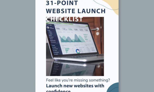 31-Point WordPress Website Launch Checklist