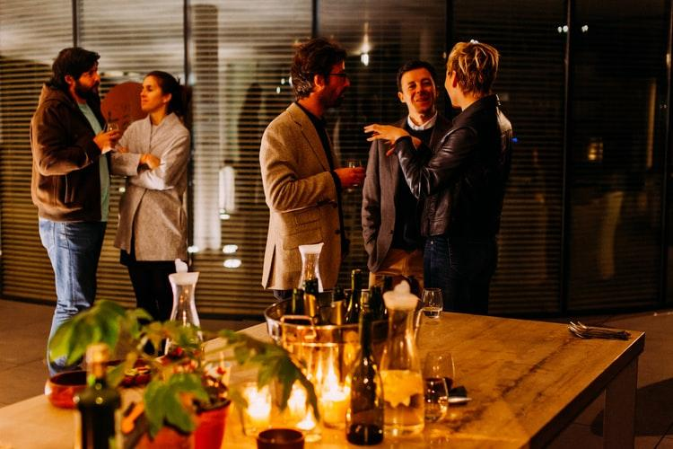 new web design clients from networking events